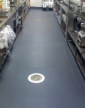 Commercial vinyl flooring commercial vinyl flooring rolls for Commercial kitchen flooring ideas